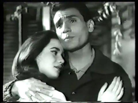 """סרט של עבד אל חלים חאפז """"יום בחיי"""" 1961 Film """"Yom Min Omri"""" Abdel Halim Hafez And Zubaida Tharwat"""
