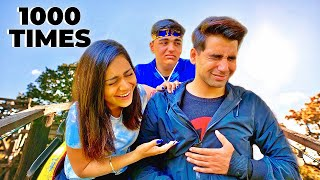 LAST TO LEAVE THE RIDE WINS Challenge   Rimorav Vlogs