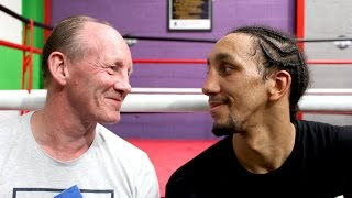 Chris Aston talks about his pro career and training his son Tyrone Nurse