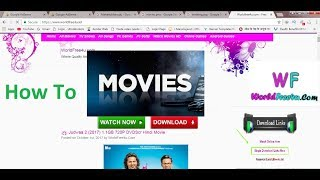 How To Download Movie In Worldfree4u Website Free