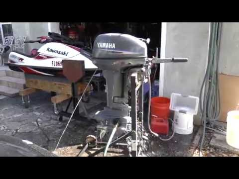 1997 mercury seapro 30hp 2 stroke tiller outboard motor for 2004 yamaha 15 hp 4 stroke