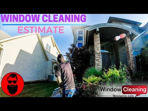 Tips For Residential Window Cleaning Estimates