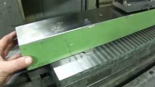 Шлифовка поверочного мостика с Двух установок-Проверка результата!