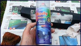 Лак в баллончике HB Body acrylic clear coat PRO честный обзор