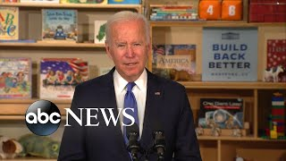 Biden pushes lower childcare costs