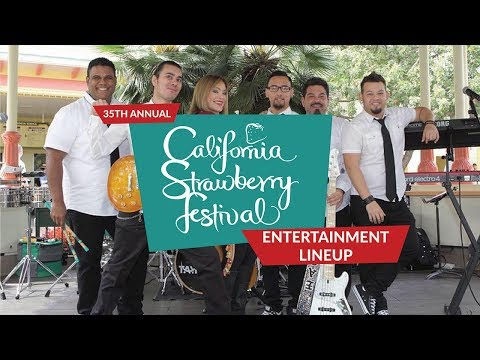 2018 Strawberry Festival Entertainment Lineup