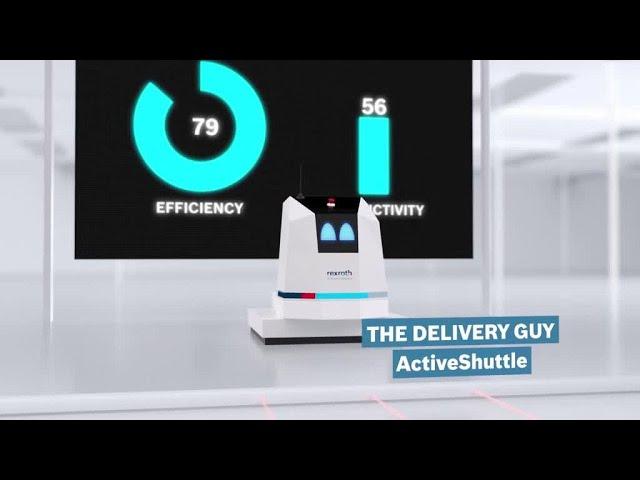 ActiveShuttle – bringt Bewegung in Ihre Intralogistik [de]