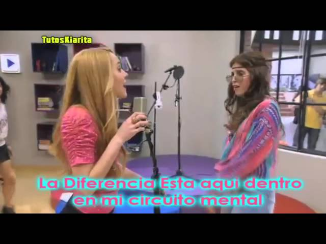 Violetta  Momento Musical   Camilla vs Ludmila  con letra Travel Video