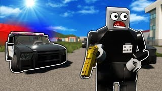 We Got in a Huge Police Chase After Stealing a Lego Car in Brick Rigs Multiplayer!