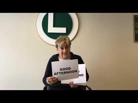 LOCS Supt. Marion Ginopolis announces Wednesday's school day status
