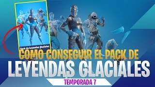 How to get the Glacial Legends Pack - Fortnite