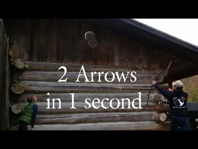 Saracen Archery or Native American Archery? 2 arrows under 1 second! Speed shoot like Lars Andersen!
