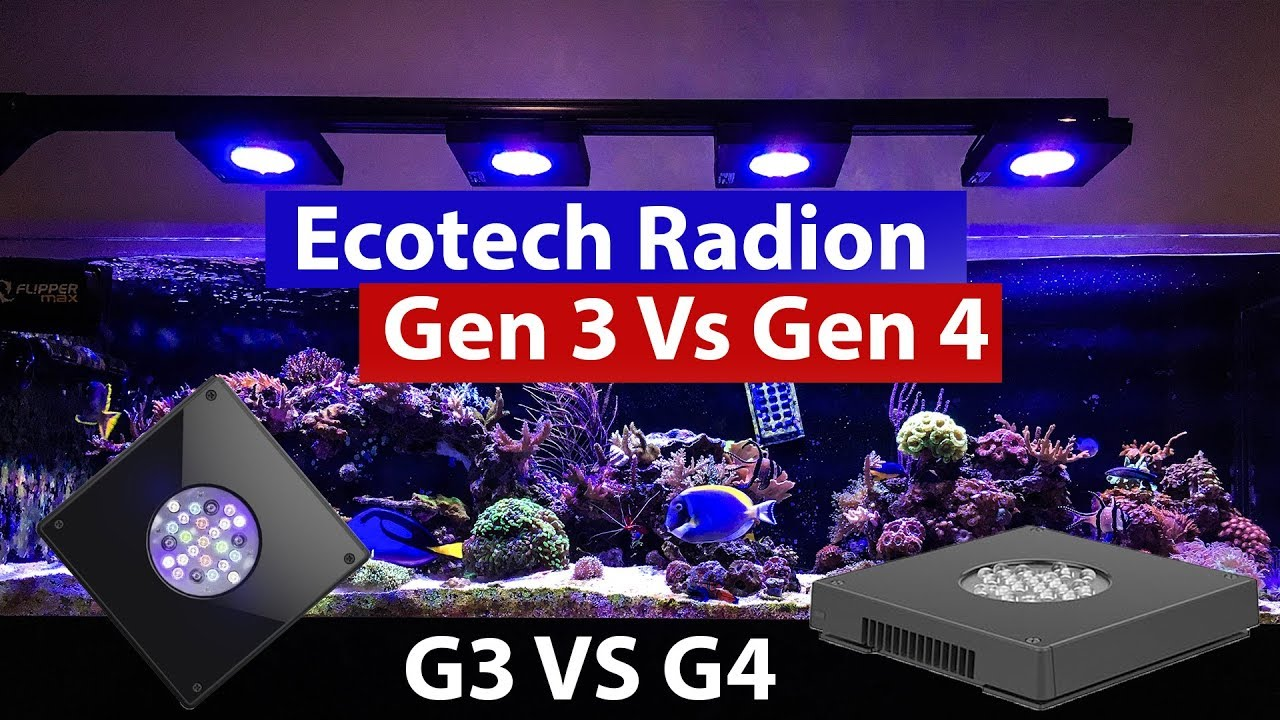Ecotech Marne Radion Gen 3 vs Gen 4 - XR15 Pro upgrade and comparison