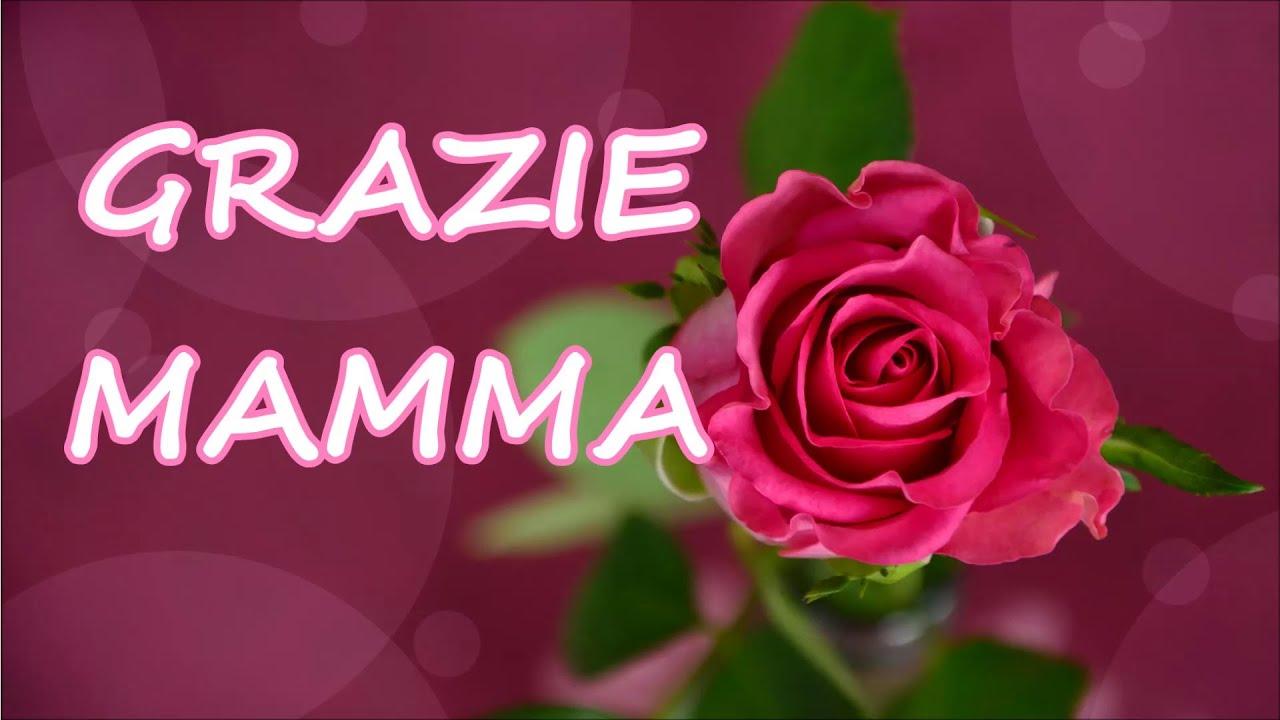 Popolare GRAZIE MAMMA (Auguri per la festa della mamma) - YouTube EO06