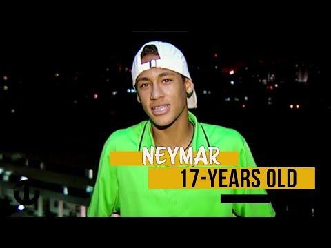 17-year-old Neymar on Trans World Sport