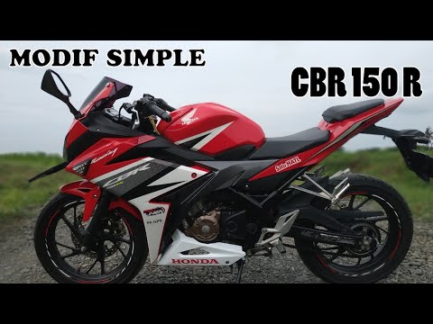 Modifikasi CBR 150R Simple
