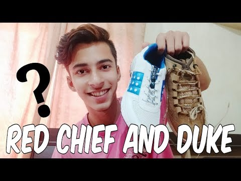 Red chief and duke shoes   Unboxing   Detailed Review   Priyanshu kashyap