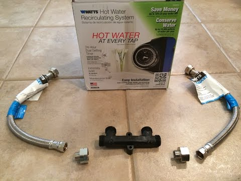 How to Install a Hot Water Recirculation Pump (Part 2: Sensor Valve)