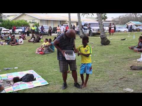Iles Salomon Fête villageoise / Solomon islands Celebration