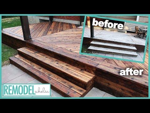 Deck Restoration with Oil Finish | Remodelaholic