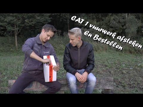 CAT 1 Vuurwerk Afsteken | En Unboxing | compilatie 2015-2016