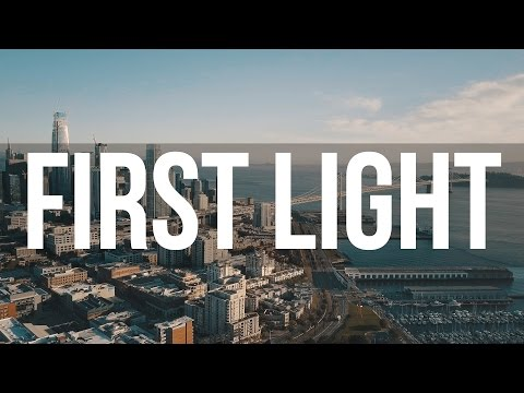 First Light : 4K Aerial footage of AT&T Park and San Francisco