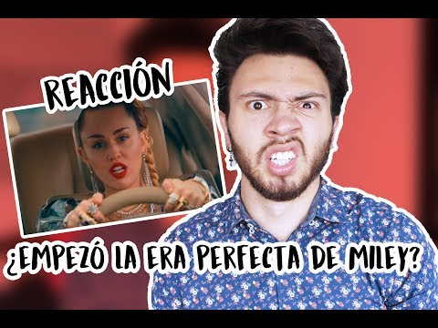 REACCIÓN A 'NOTHING BREAKS LIKE A HEART' - MARK RONSON Ft. MILEY CYRUS | Niculos M