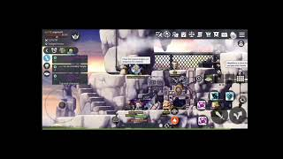MSM Maplestory M dummy guide to make sf144 from noob equips the budget way part1
