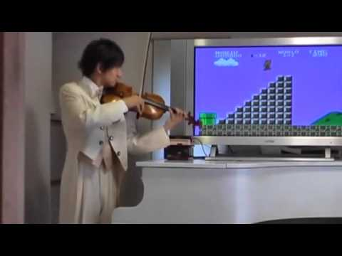 super mario au violon cours de violon pour d butant. Black Bedroom Furniture Sets. Home Design Ideas