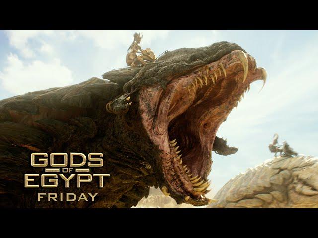 "Gods of Egypt (2016 Movie - Gerard Butler) Official TV Spot – ""Believe""  713f510862"