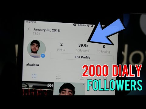 how to get 2000 followers on instagram