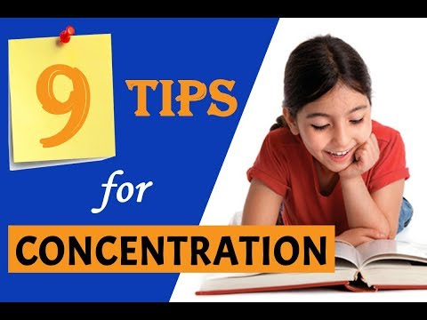 9 Expert Recommended Tips to Improve Concentration in Kids