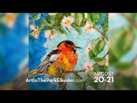 Art In The Park, Elkader, IA 2016