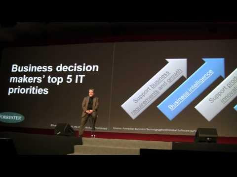 Tim Harmon  Forrester Keynote / A new era for business partners / #AvayaEPF