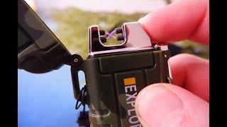 Обзор/Отзыв. Электроимпульсная зажигалка Explorer с Aliexpress. Топ Подборка Зажигалок.