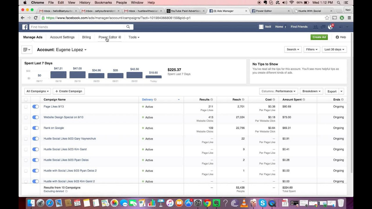 Facebook Ads : Power Editor vs. Ads Manager - YouTube