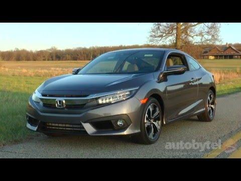 2016 Honda Civic Coupe 1.5L Turbo Test...