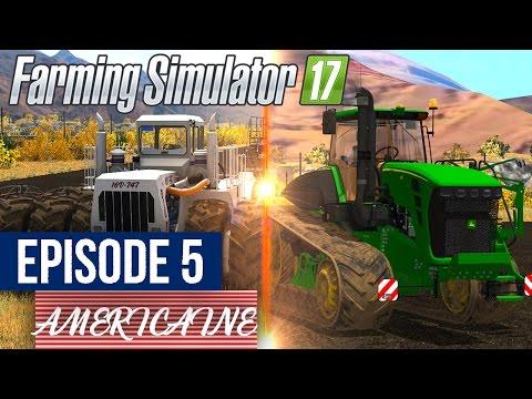 Farming Simulator 17 | La Ferme Americaine | Episode 5 | GROS SEMIS !