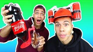 VERRÜCKTE COCA COLA PRODUKTE DIE DU NOCH NICHT KANNTEST !!! | Kelvin und Marvin