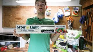 The Beginner's Kit to Mastering Seed Starting - Grow Lights