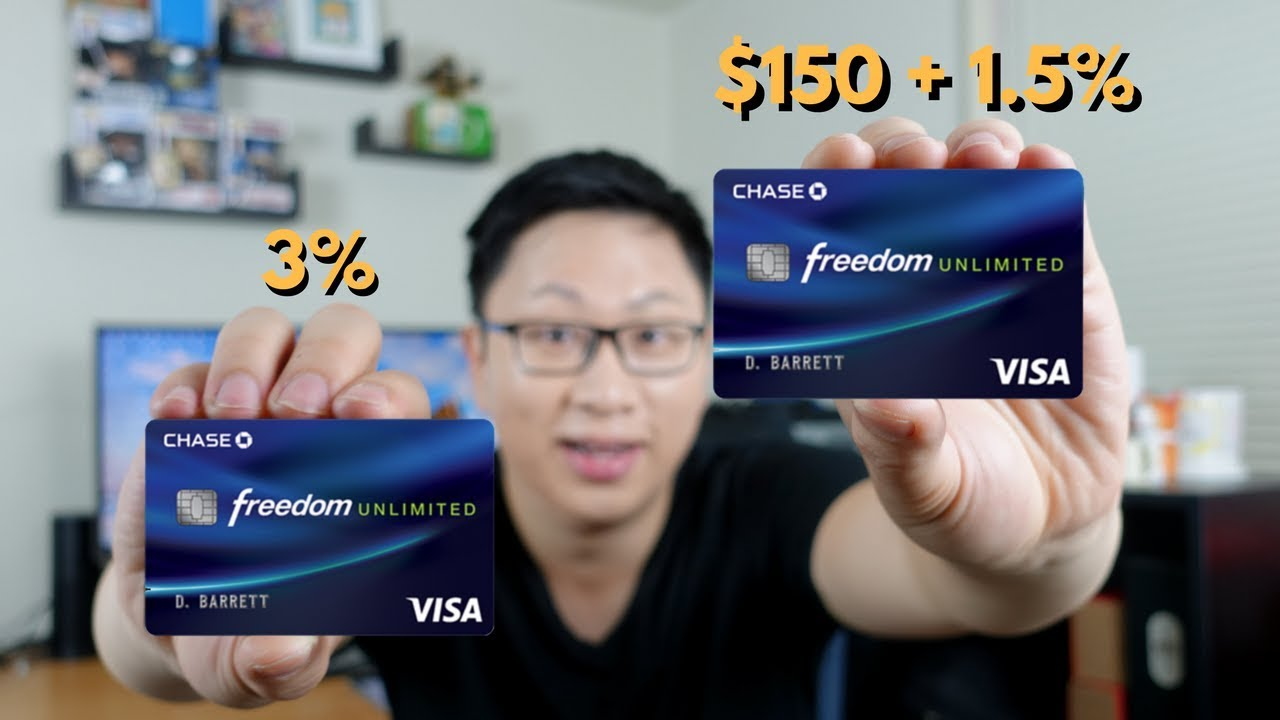 Chase Freedom Unlimited Offers: $1111 + 11.11% vs. 11% Cash Back