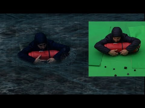 Green screen replace background in After Effects CC 2018