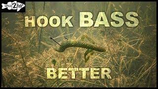 Power Wacky Rigging Bass With Neko Hooks and Creature Baits