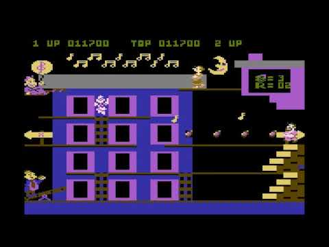POPEYE Encore ATARI 800 XL !!! Long play