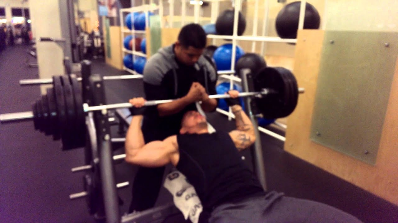 Alejandro Rey 400 Lb Bench Press  Youtube