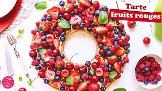 🍒 TARTE AUX FRUITS ROUGES 🍒
