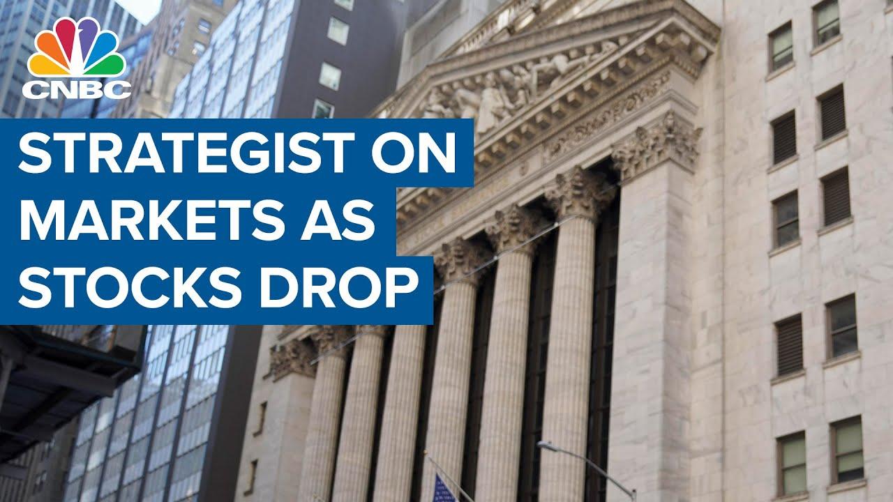 U.S. Stocks Drop Following Tech Slide