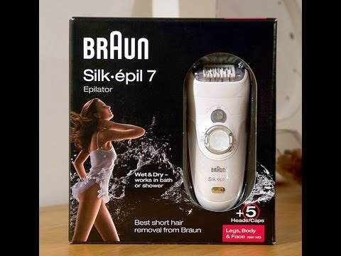 opinia i test depilator braun silk epil 7 wet dry youtube. Black Bedroom Furniture Sets. Home Design Ideas