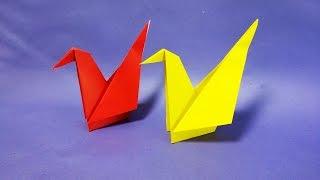 쉬운 종이학 접기 How to Make Easy Paper Origami cranes