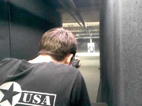 Colt 9mm full auto at Bullseye in L'Ville